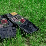 Red Monkey Company Yoropiko Patchwork Wave Denim Shorts