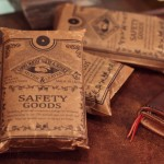 Larry Smith x FUCT SSDD Leather Wallet